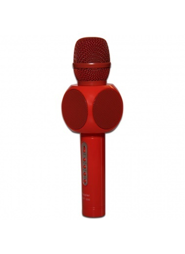 Doppler Karaoke Mikrofonu - Şık Dizayn Kırmızı